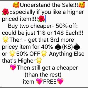 🌟🌺🌟A GREAT 50% OFF SALE🌟🌺🌟